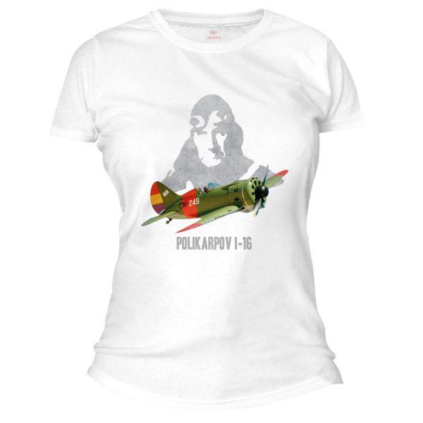 POLKARPOV avion camiseta mujer