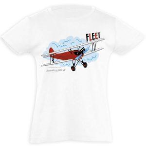 camiseta infantil avión Fleet