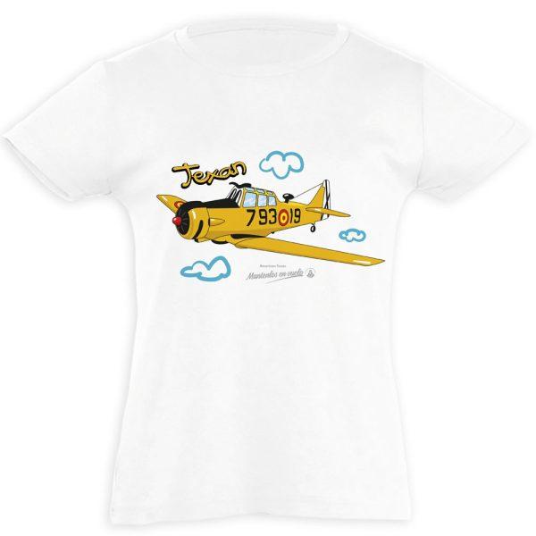 camiseta infantil TEXAN FIO