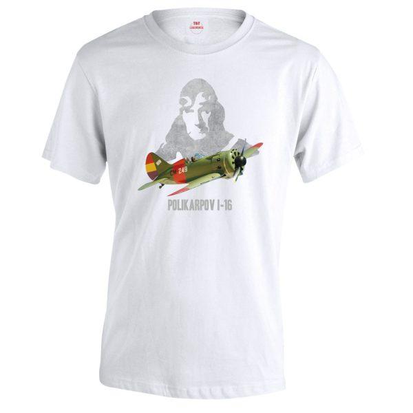 camiseta mosca avion