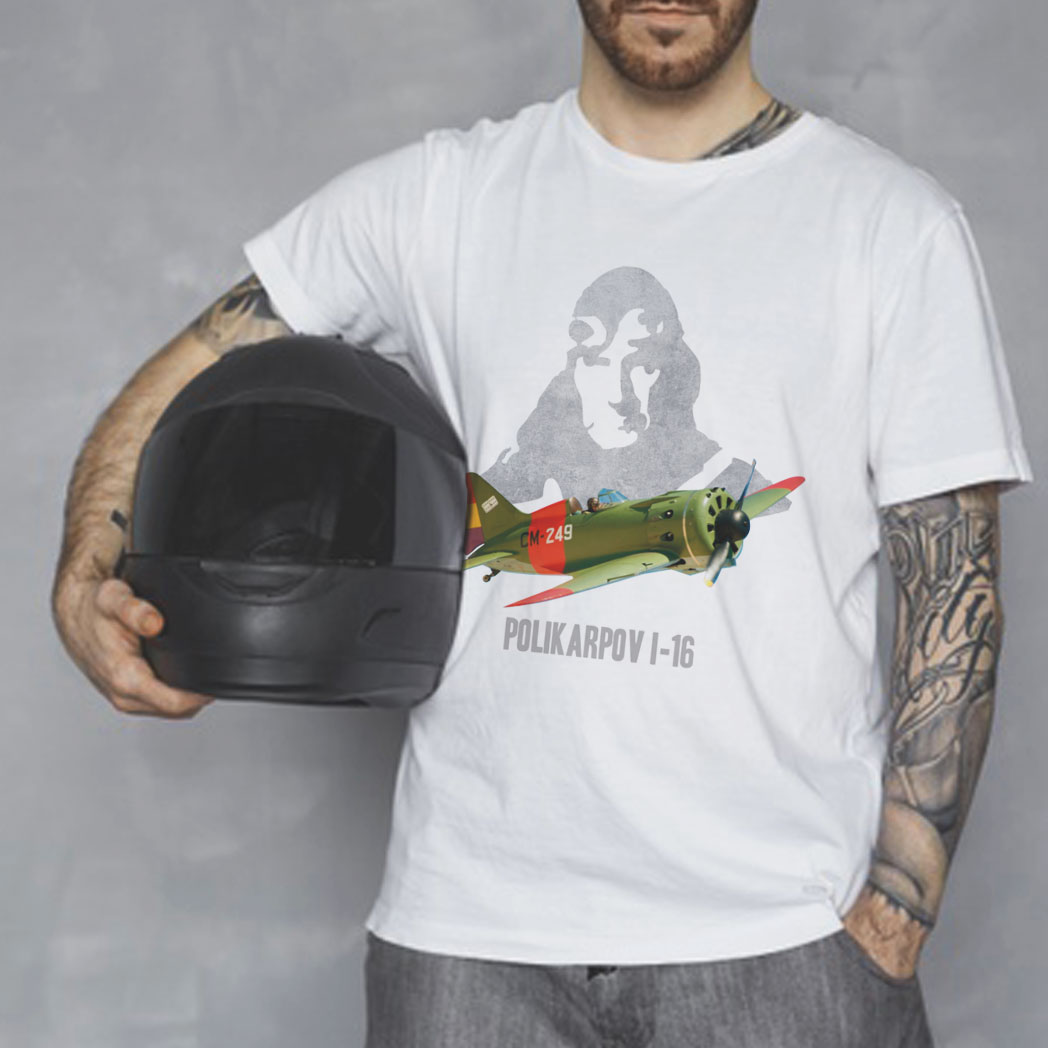 camiseta avion FIO