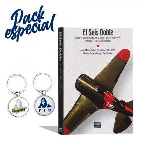 pack especial seis dobles y llaveros