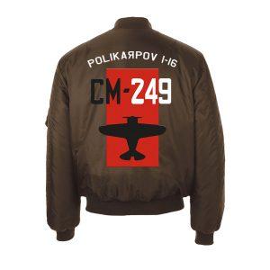 Cazadora aviador Polikarpov I-16