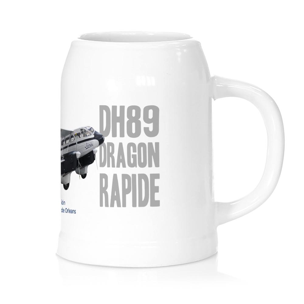 Jarra cerveza avión Dragon Rapide