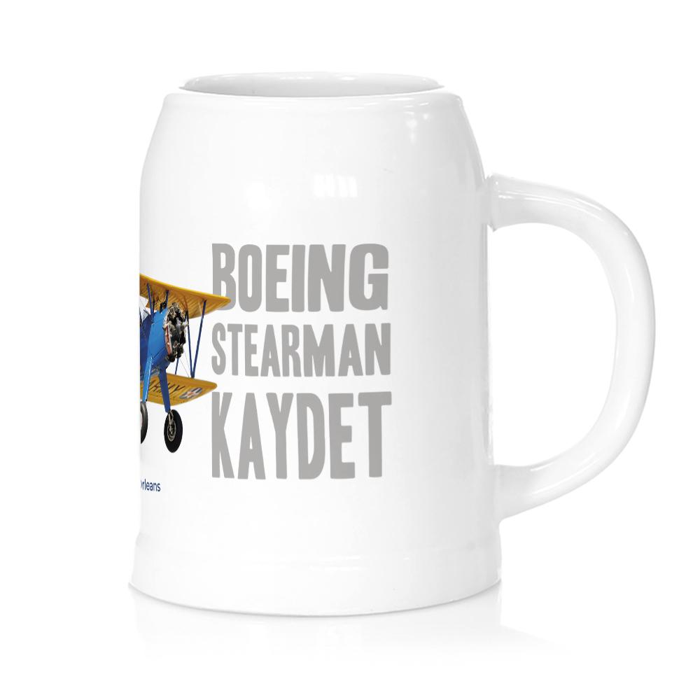 Jarra cerveza avión Stearman FIO